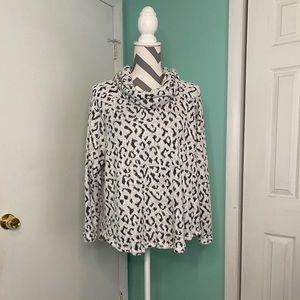 Ruby Rd. Animal Print Sweater